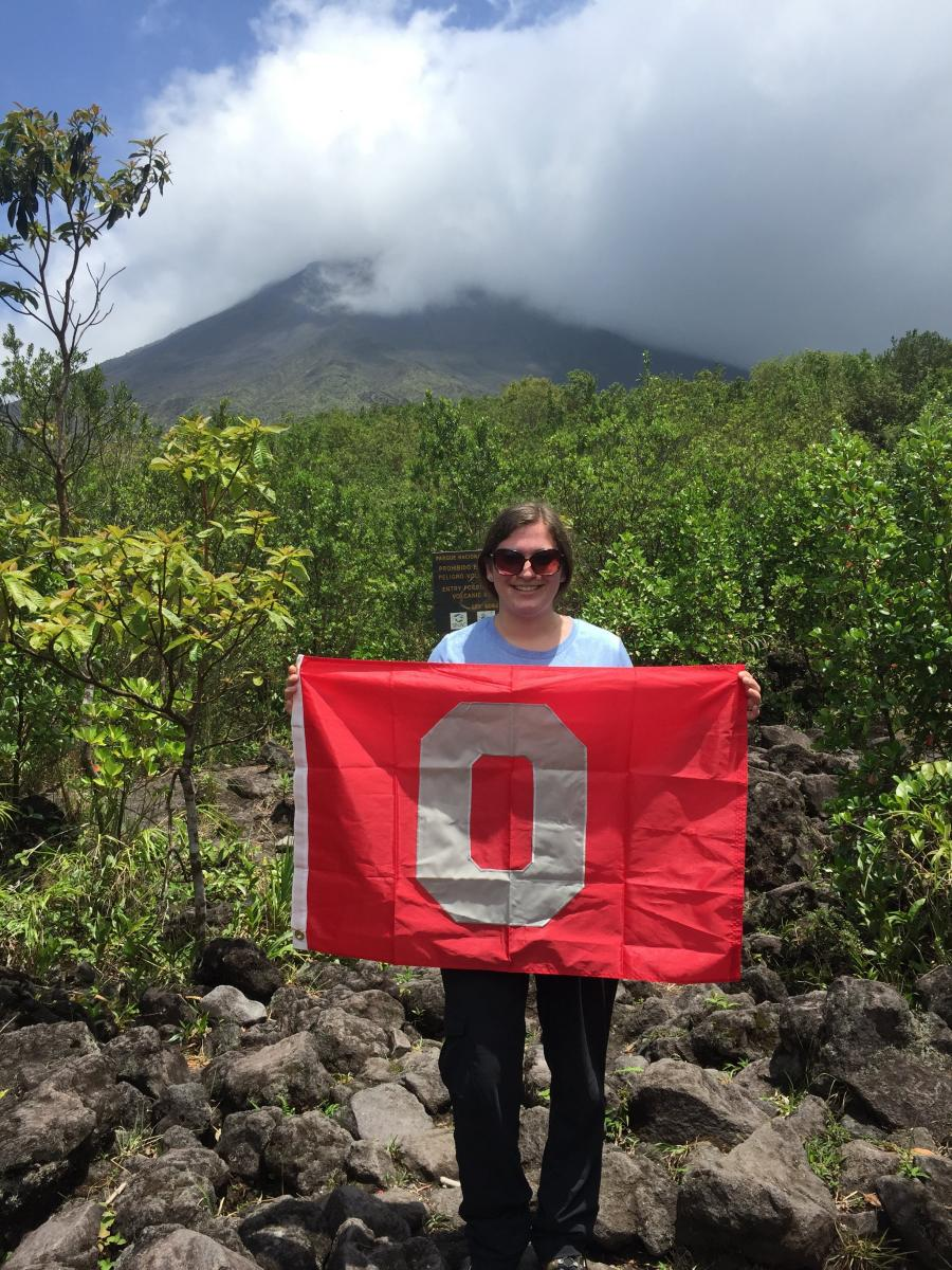 Jenna also participated in an education abroad trip to Costa Rica