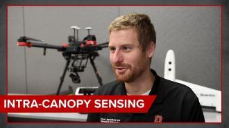 Graduate Student Chris Wiegman: Intra-Canopy Sensing