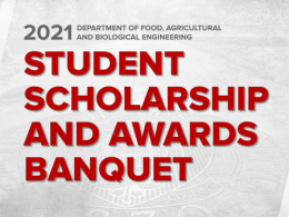 2021 Student Scholarships and Awards