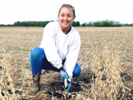 Alysa Gauci is a first-year graduate student studying agricultural engineering