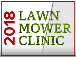 Help support the ASM and CSM Clubs at Lawn Mower Clinic 2018
