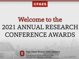 2021 CFAES Annual Research Conference Awards