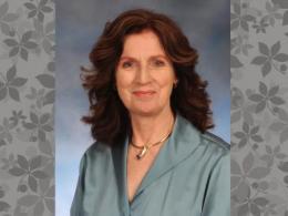 Dr. Katrina Cornish receives the A. E. Thompson Career Achievement Award