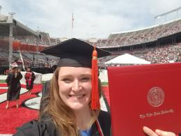 Holly graduated in May 2018 with her B.S. degree in FABE, specializing in food engineering