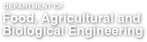 Department of Food, Agricultural and Biological Engineering